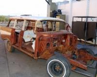 Before Blasting: Classic Chevy