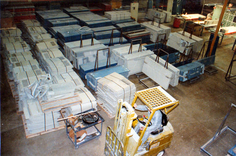 IBM Computer Panel Reconditioning Operation