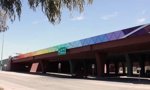 I-10 Expansion Bridge Art