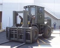 John Deere Armored Forklift
