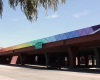 I-10 Expansion Bridge Art