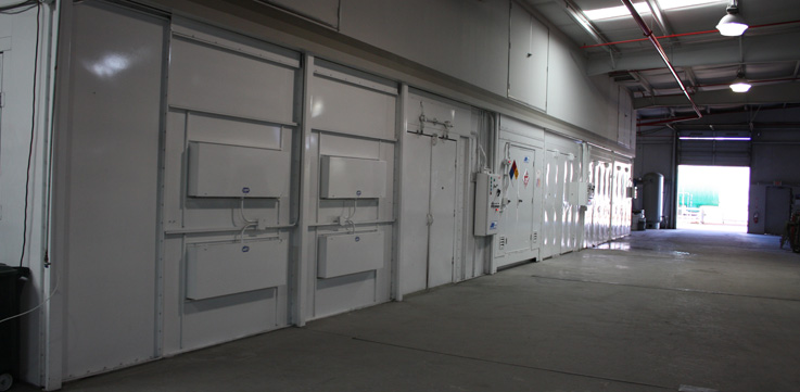 JBI Industrial Spray Booths